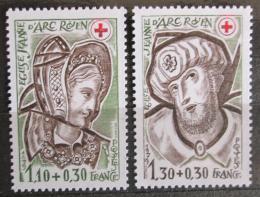 Poštovní známky Francie 1979 Èervený køíž Mi# 2183-84