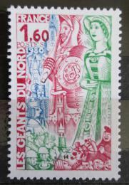 Poštovní známka Francie 1980 Karneval Mi# 2194