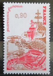 Poštovní známka Francie 1980 Výstava Francouzská gastronomie Mi# 2196