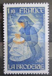 Poštovní známka Francie 1980 Výšivka Mi# 2199