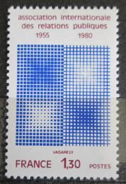 Poštovní známka Francie 1980 IPRA, 25. výroèí Mi# 2211