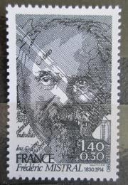 Poštovní známka Francie 1980 Frédéric Mistral, básník Mi# 2219