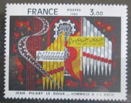 Poštovní známka Francie 1980 Umìní, Jean Picart Le Doux Mi# 2220