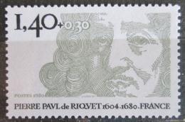 Poštovní známka Francie 1980 Pierre-Paul Riquet Mi# 2223
