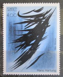 Poštovní známka Francie 1980 Umìní, Hans Hartung Mi# 2234