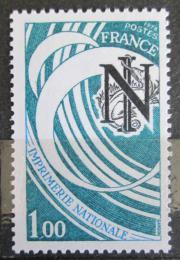 Poštovní známka Francie 1978 Státní tiskárna Mi# 2118