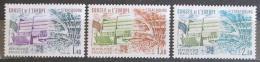 Poštovní známky Francie 1981 Vydání pro Radu Evropy Mi# 27-29