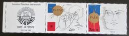 Poštovní známky Francie 1981 Výstava PHILEXFRANCE Mi# 2262-63
