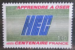 Poštovní známka Francie 1981 HEC, 100. výroèí Mi# 2271
