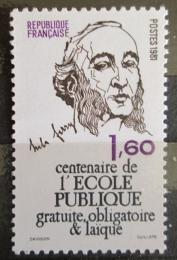 Poštovní známka Francie 1981 Jules Ferry Mi# 2284