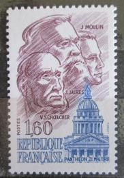 Poštovní známka Francie 1981 Osobnosti Mi# 2290