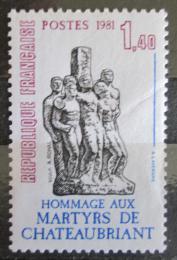 Poštovní známka Francie 1981 Váleèný památník Mi# 2297