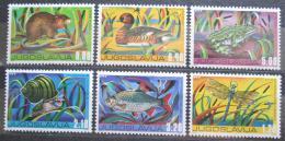 Poštovní známky Jugoslávie 1976 Fauna Mi# 1640-45 Kat 7€