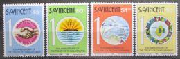 Poštovní známky Svatý Vincenc 1983 Smlouva z Chaguaramas Mi# 656-59