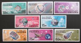 Poštovní známky Fudžajra 1966 Prùzkum vesmíru Mi# 70-77