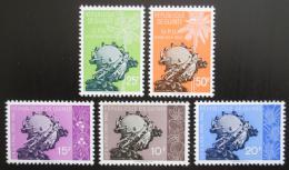 Poštovní známky Guinea 1960 Vstup do UPU, 1. výroèí Mi# 44-48