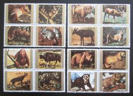 Poštovní známky Umm al-Kuvajn 1972 Fauna Mi# 1530-45