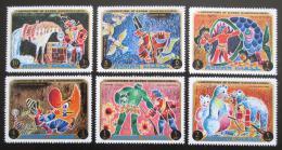 Poštovní známky Adžmán 1971 Pohádky Mi# 1021-26