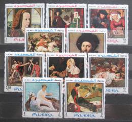 Poštovní známky Fudžajra 1968 Umìní Mi# 224-33 Kat 17€