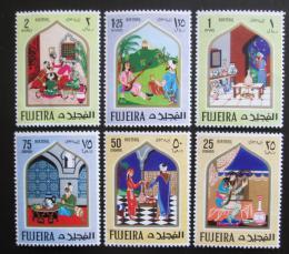 Poštovní známky Fudžajra 1967 Pohádky z Tisíce a jedné noci Mi# 192-97