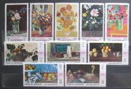 Poštovní známky Umm al-Kuvajn 1968 Umìní starých mistrù Mi# 275-84 Kat 11€