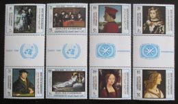 Poštovní známky Aden Qu aiti 1967 Umìní, Rok turistiky Mi# 169-76 Kat 15€