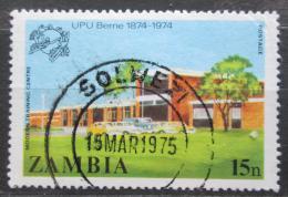 Poštovní známka Zambie 1974 UPU, 100. výroèí Mi# 136