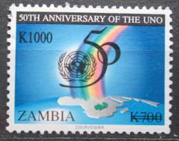 Poštovní známka Zambie 2004 OSN, 50. výroèí pøetisk Mi# 1489