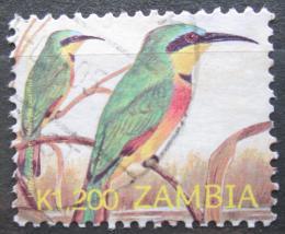 Poštovní známka Zambie 2002 Vlha modrolící Mi# 1407