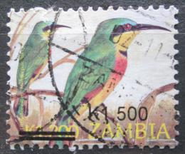 Poštovní známka Zambie 2007 Vlha modrolící pøetisk Mi# 1588
