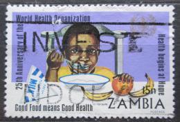 Poštovní známka Zambie 1973 WHO, 25. výroèí Mi# 114 Kat 2.50€