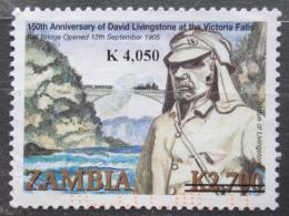 Poštovní známka Zambie 2009 David Livingstone pøetisk Mi# 1628 Kat 5€