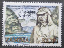 Poštovní známka Zambie 2013 David Livingstone pøetisk Mi# 1696