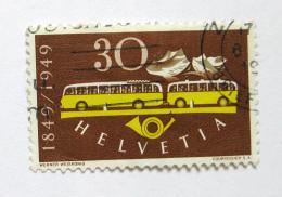 Poštovní známka Švýcarsko 1949 Autobusy Mi# 521 Kat 11€