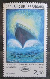 Poštovní známka Francie 1982 Filmový plakát Mi# 2334