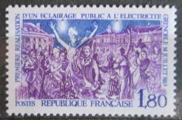Poštovní známka Francie 1982 Elektrické osvìtlení Grenoble Mi# 2349