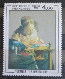 Poštovní známka Francie 1982 Umìní, Jan Vermeer Mi# 2350