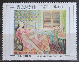 Poštovní známka Francie 1982 Umìní, Balthus Mi# 2365