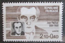 Poštovní známka Francie 1984 Jean Paulhan, spisovatel Mi# 2470