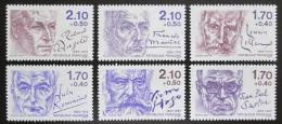 Poštovní známky Francie 1985 Osobnosti Mi# 2484-89 Kat 20€