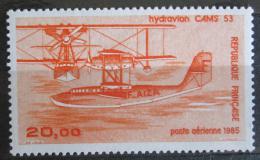 Poštovní známka Francie 1985 Létající èlun Mi# 2490 Kat 7€