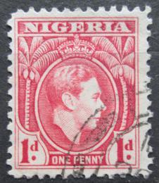 Poštovní známka Nigérie 1938 Král Jiøí VI. Mi# 47 a