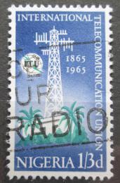 Poštovní známka Nigérie 1965 ITU, 100. výroèí Mi# 167