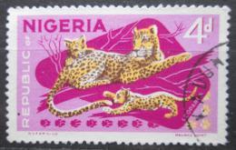 Poštovní známka Nigérie 1969 Levhart skvrnitý Mi# 180 DI