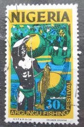 Poštovní známka Nigérie 1973 Rybáøský festival Mi# 285 II Y