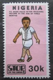 Poštovní známka Nigérie 1984 Boj proti dìtské obrnì Mi# 430