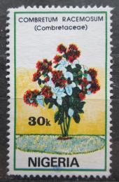 Poštovní známka Nigérie 1987 Kvìtiny Mi# 506