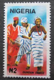 Poštovní známka Nigérie 1992 Tradièní tanec Dundun Mi# 605