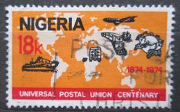 Poštovní známka Nigérie 1974 UPU, 100. výroèí Mi# 305