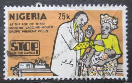Poštovní známka Nigérie 1984 Oèkování proti dìtské obrnì Mi# 429